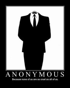 «Ανώνυμοι» χάκερ όνομα και πράγμα