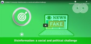 CONNECT University: Disinformation a social and political challenge – YouTube